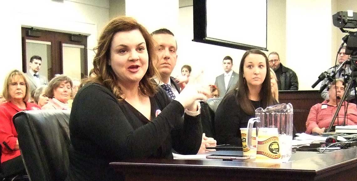 Abby Johnson at the SB9 Committee Hearing