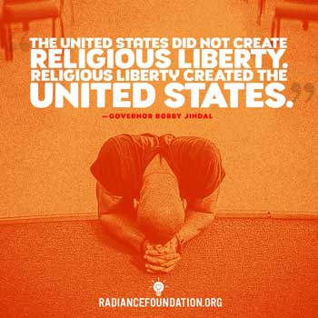 religious freedom quote by Bobby Jindal